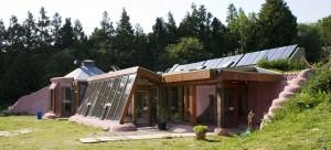 Earthship ház
