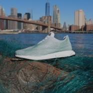 Szemétből készült Adidas cipő